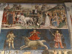 Francesco del Cossa, Aries, Palazzo Schifanoia, Ferrara