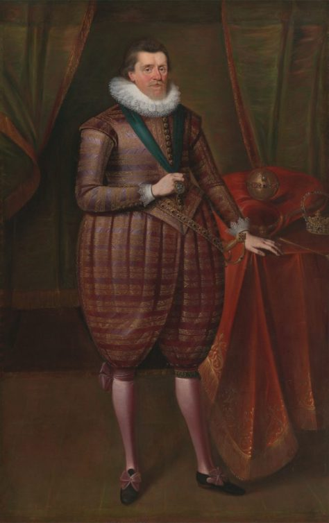 Attributed to Paul van Somer, James VI and I