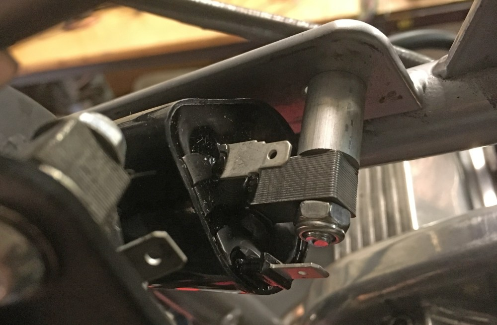 medium resolution of you have to make up brackets and or spacers for the witt ignition kit coils