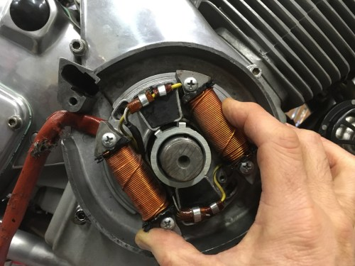 small resolution of you also have to fish the rotor off factory tool required to fit this
