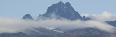Batian - highest peak of Mount Kenya