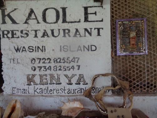 Kaole Restaurant - copyright Rupi Mangat