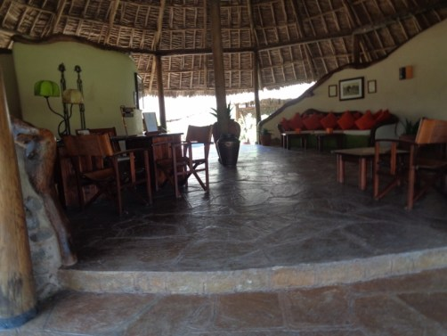 Reception - Tortilis Camp in Amboseli, - Copyright Rupi Mangat