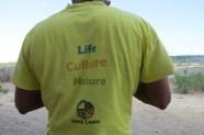 At Kwasasi - Save Lamu - a coalition of more then 36 local Community-based organizations fighting to stop the coal plant - copyright Maya Mangat