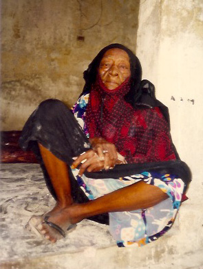 Mamishi 1991 She was a household slave mtumo She died 91 years old in 1992 Copyright Christina Aarts