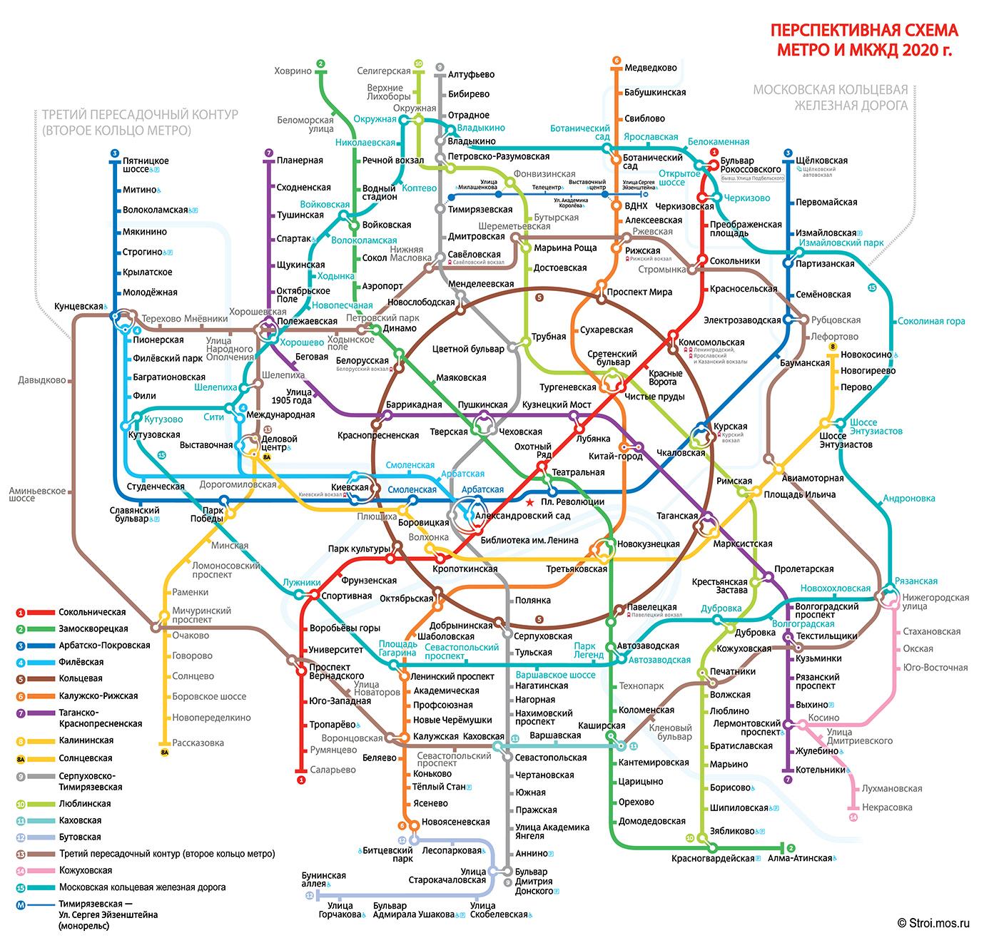 схема метро с мцк москвы проложить маршрут на схеме метро