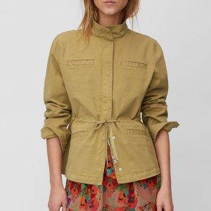 Field-Jacket aus Baumwoll-Twill von Marc O'Polo Bei RUPP Moden