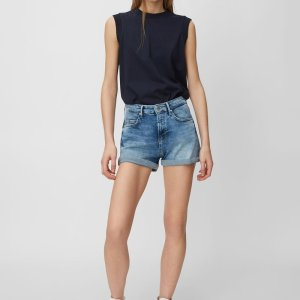 Jeans-Shorts in lässiger Waschung von Marc O'Polo bei RUPP Moden