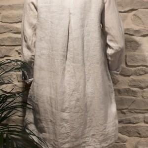 Leinen-Hemdkleid KIRAvon Fil Noir bei RUPP Moden