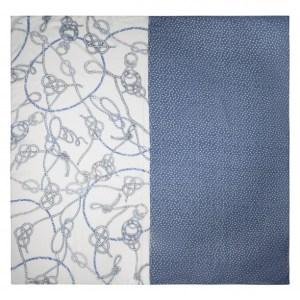 Maritimes Trendtuch aus recyceltem Polyester von Codello bei Rupp Moden