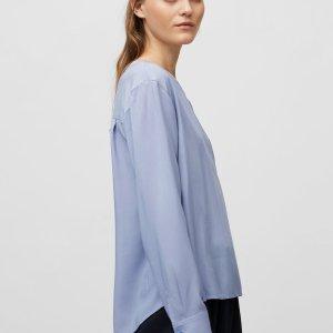 Blusenshirt aus fließender Viskose-Qualität von Marc O'Polo bei RUPP Moden