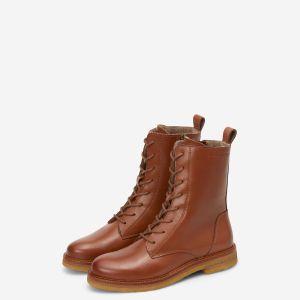 Schnür-Stiefel aus Rindsleder von Marc O'Polo bei RUPP Moden