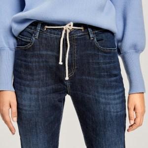 Boyfriend-Jeans Louis dark blue von Opus bei RUPP Moden