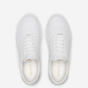 Sneaker mit Velours-Kontrast von Marc O'Polo bei RUPP Moden