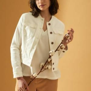 Taillierte Jacke (GOTS) von Lanius bei RUPP Moden