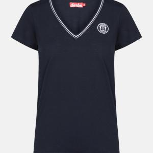 T-Shirt Retro V-Ausschnitt von Derbe bei RUPP Moden