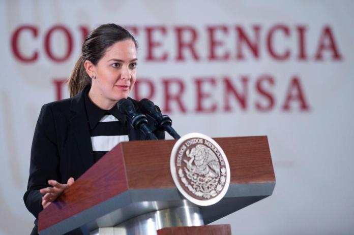Lorena Rodríguez Bores, secretaria técnica del Consejo Nacional de Salud Mental