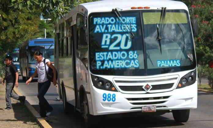 Ajuste a las rutas de transporte público