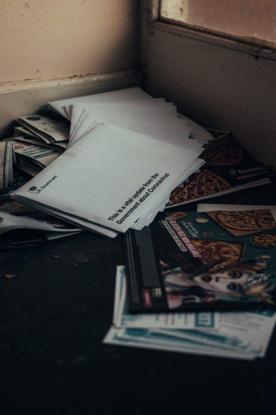 Stack of Forgotten Envelopes