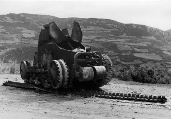 Uništeni jugoslovenski FT 17