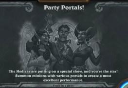 Party Portals tabla