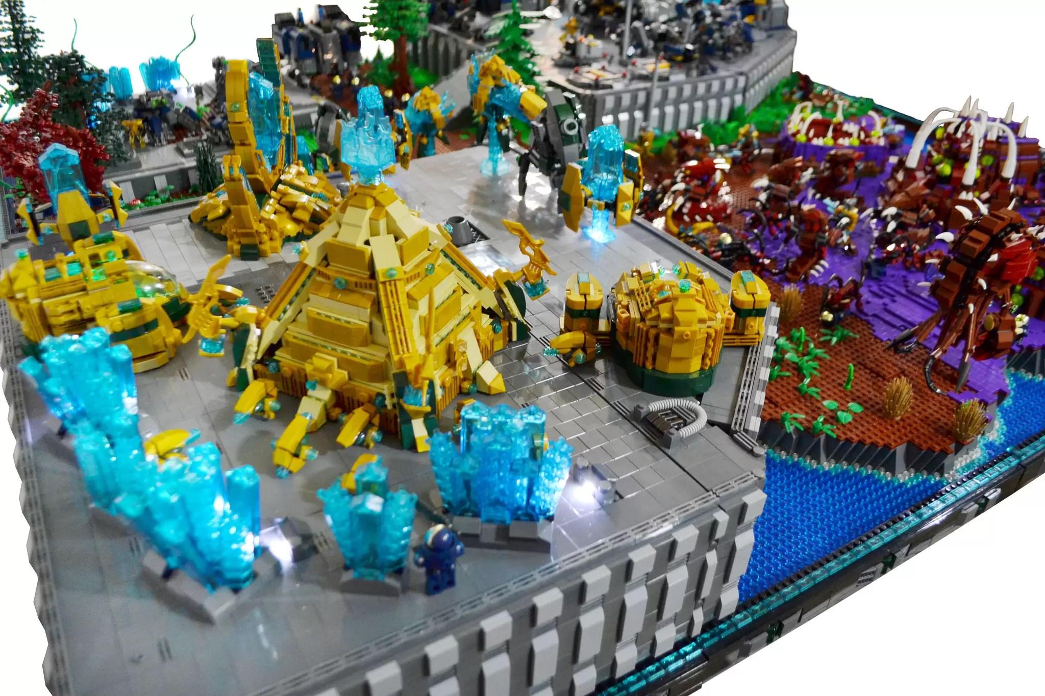 Pogledajte fenomenalnu StarCraft 2 lego kolekciju