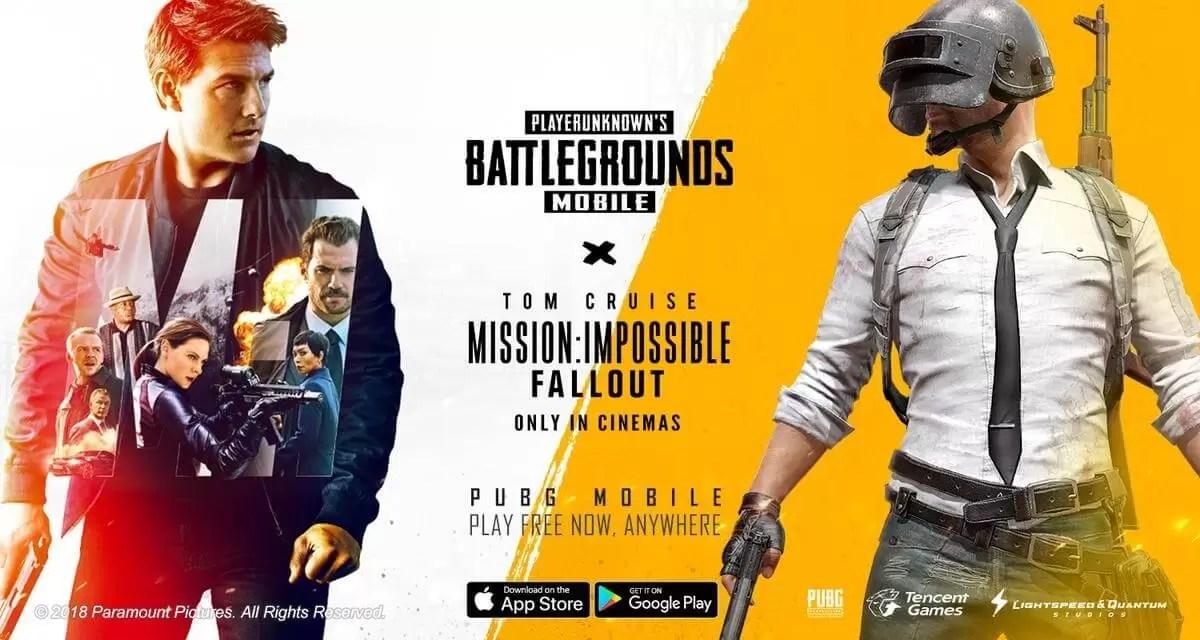 PUBG Mobile trenutno ima Mission: Impossible – Fallout krosover