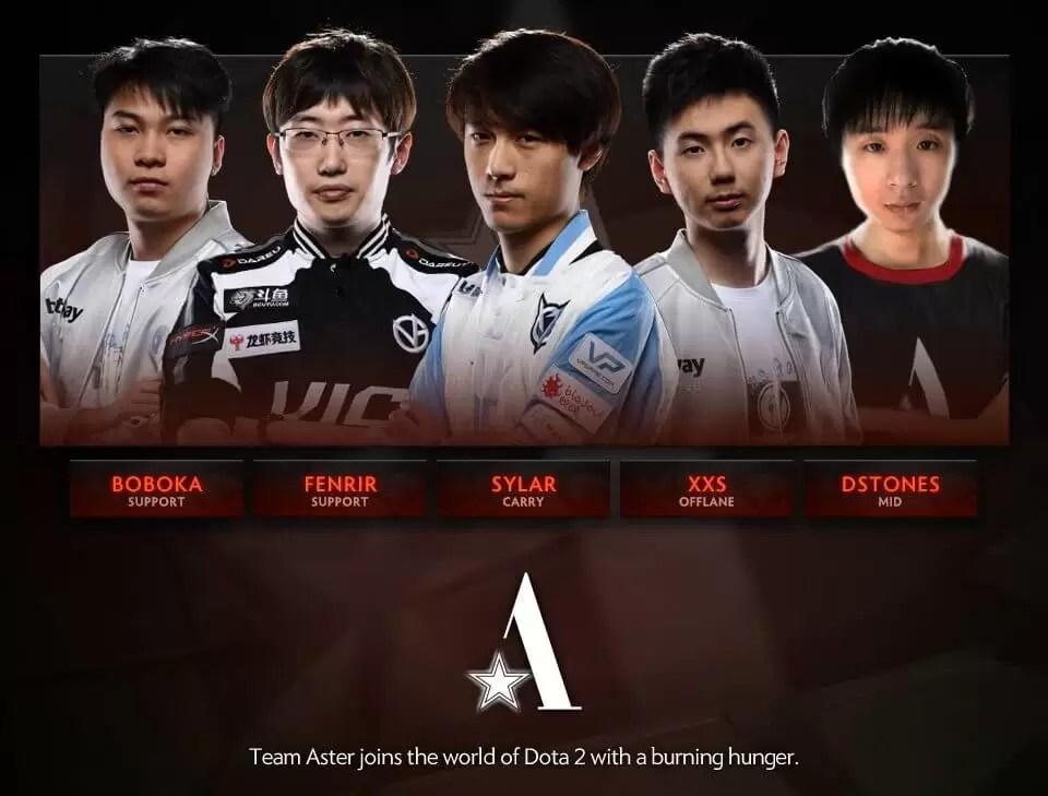 Team Aster se pridružio Dota 2 svetu