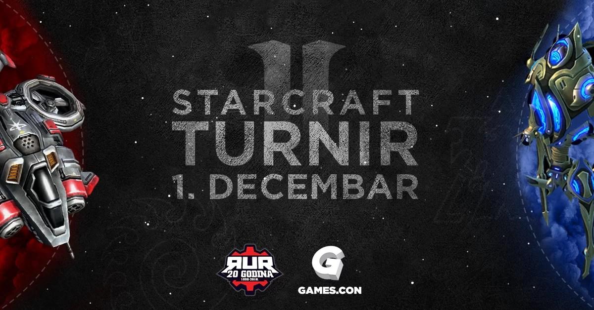 RUR StarCraft II turnir na Games.con 2018