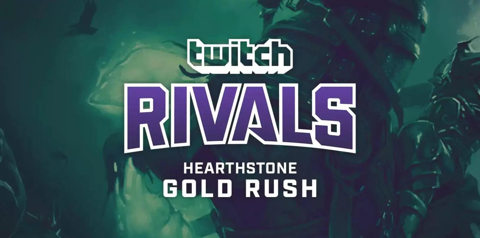 Twitch Rivals: Hearthstone zlatna groznica u borbi za 25 000 dolara!