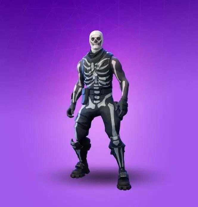 Skull Trooper skin se možda vraća za Noć veštica u Fortnite