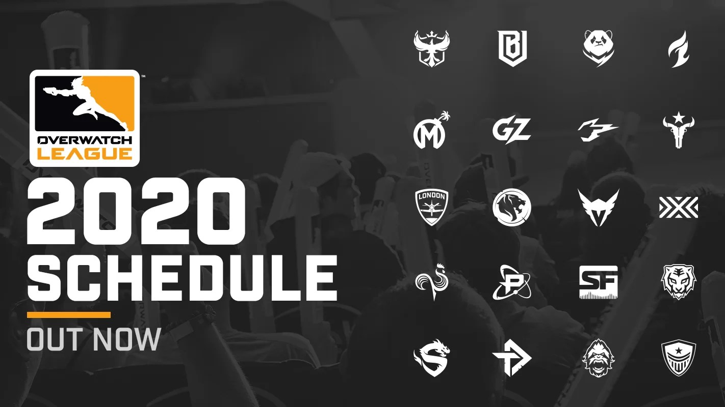 Objavljen detaljan raspored Overwatch lige 2020.