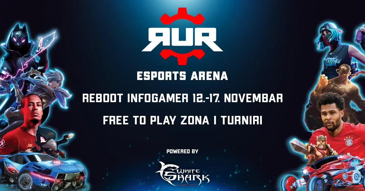 RUR održava turnire Reboot Infogameru 2019