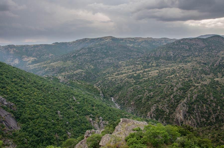 Skochivir Gorge of Crna River