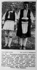 Mariovo folk costumes