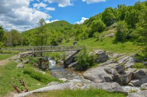 Temnichki whirlpool, village Gradeshnica