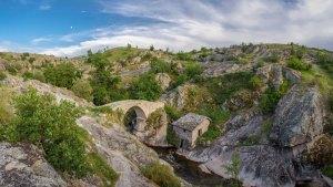 Stone Bridge village Zovikj