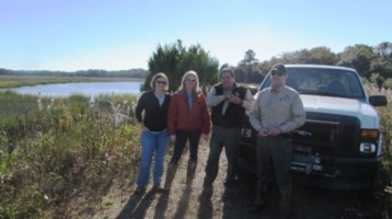 Beaufort Sheriff's Office is on the Conservation Team