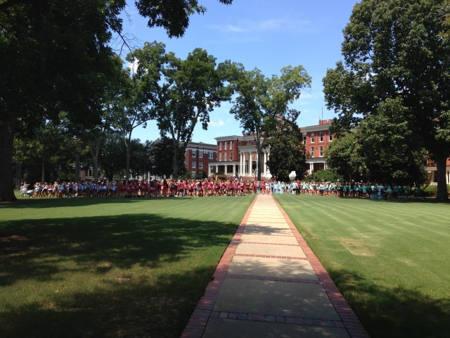 Bid Day, Georgia College