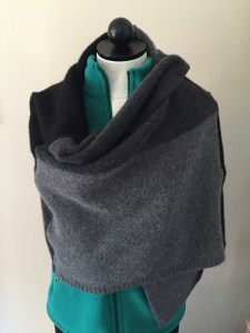 black cashmere shawl