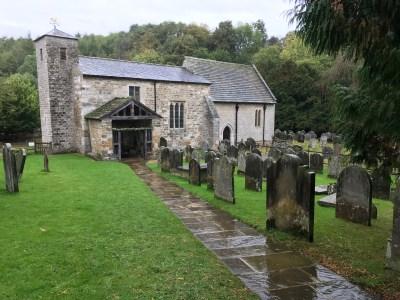 Kirkdale Church near Kirkbymoorside