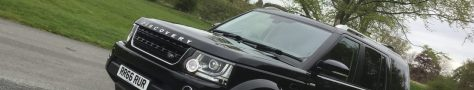 Landrover Discovery in Duncombe Park on VIP Duties