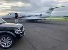 Private Jet at Durham Airport