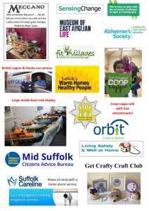 Golden Age Fair poster Needham Market side 2-1