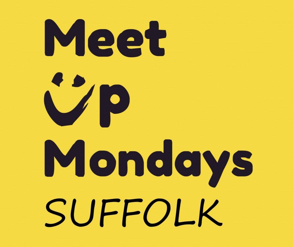 MeetUpMondaysSuffolk logo