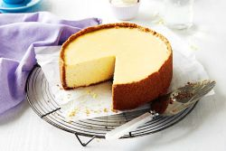 Cheesecake no forno