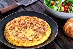 Tortilha de batatas à espanhola