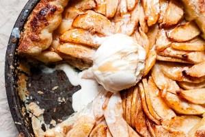 Tarte de maçã com massa folhada