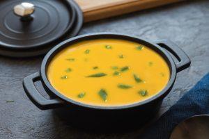 Sopa de feijão verde à antiga