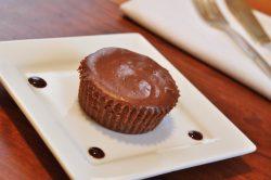 Queijadas de chocolate